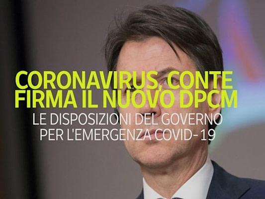 DPCM Corona Virus 2019